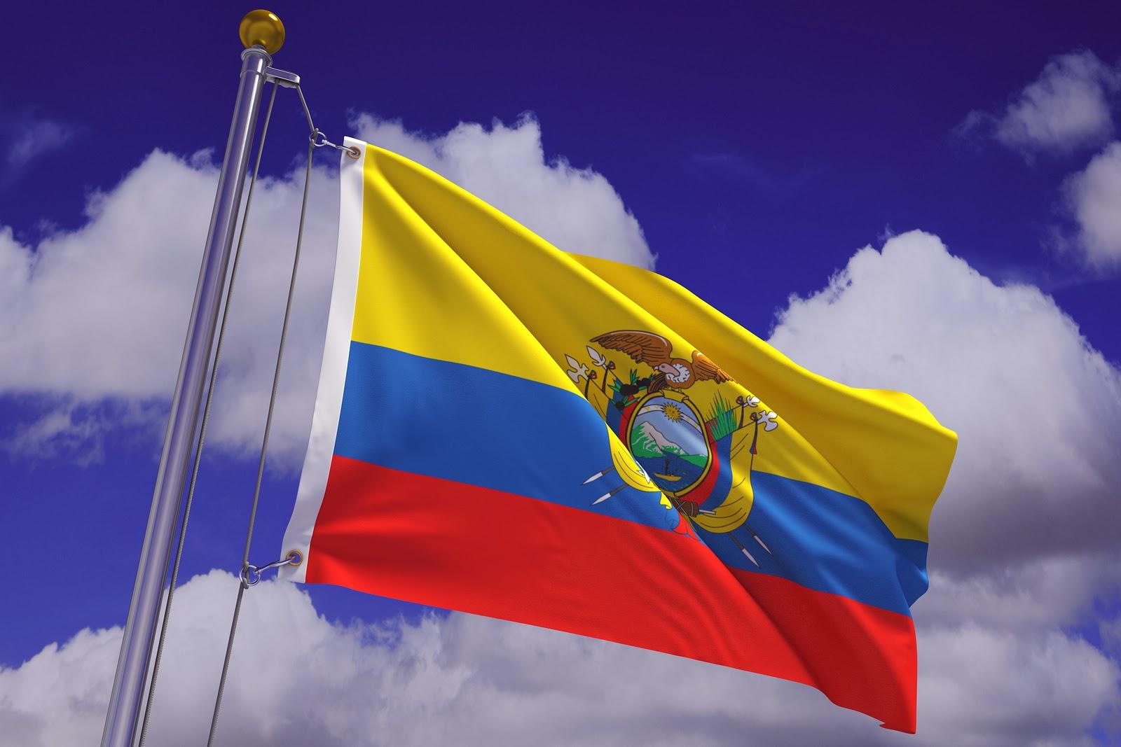 bandera de ecuador consulado en sevilla