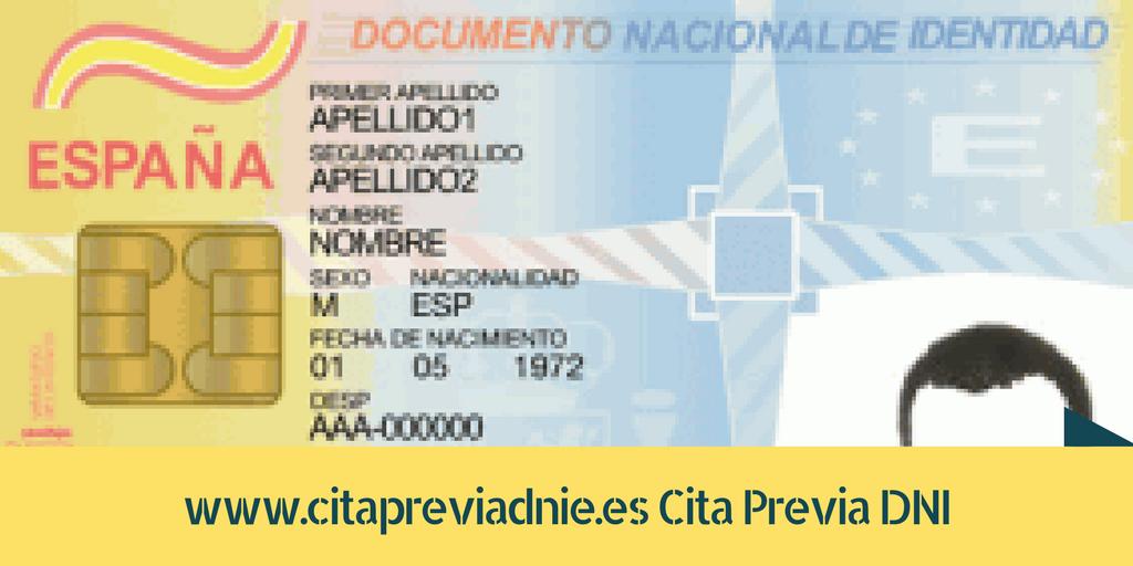 Cita previa dni for Oficinas renovacion dni