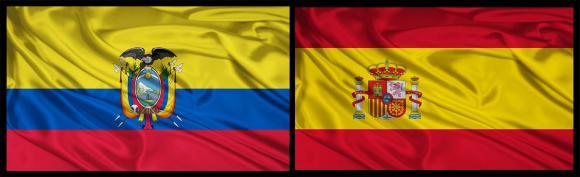 ecuador bandera españa
