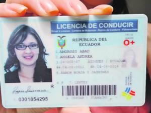 licencia de ecuador