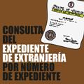 Consulta del Expediente de Extranjería por número de Expediente