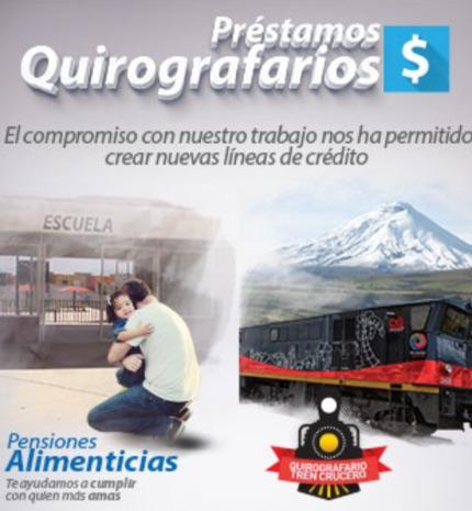 Préstamos Quirografarios BIESS