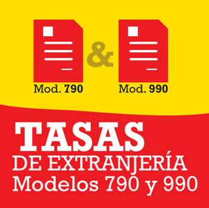 Tasas Extranjería 790 990