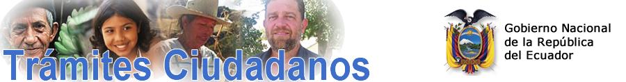 tramites ciudadanos gobierno nacional de la república del ecuador